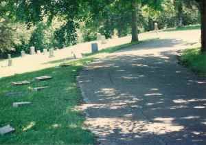 Tombstones At Ashland P.Blakley O P. Blakley